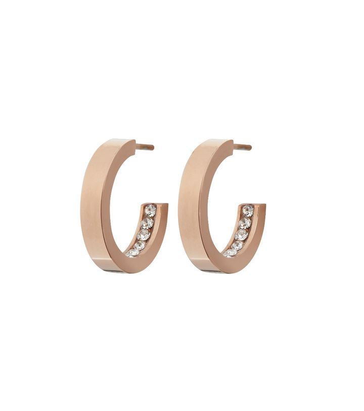 Monaco Earrings Mini Rose Gold