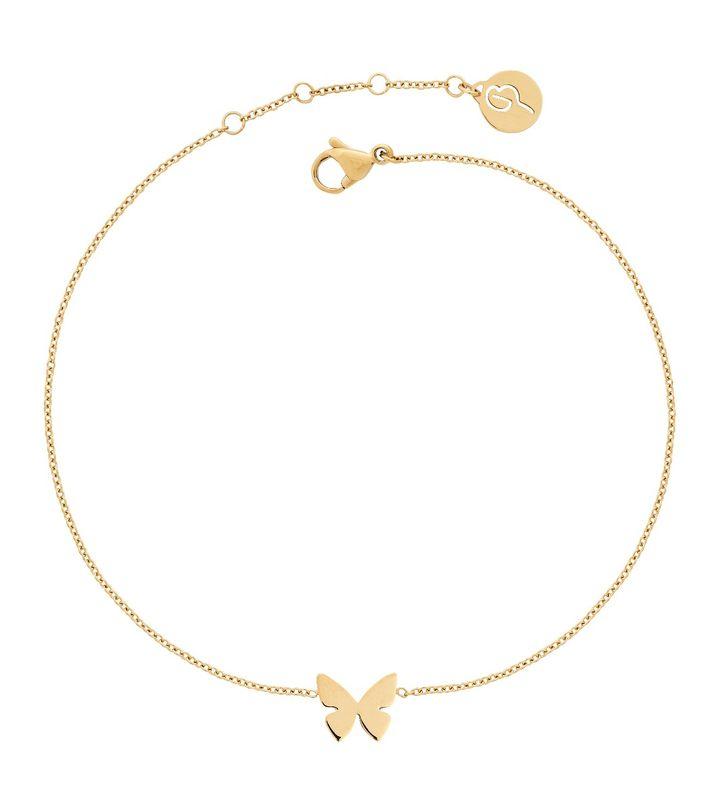 Papillon Anklet Gold