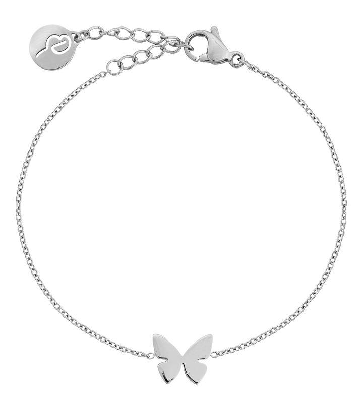 Papillon Bracelet Steel
