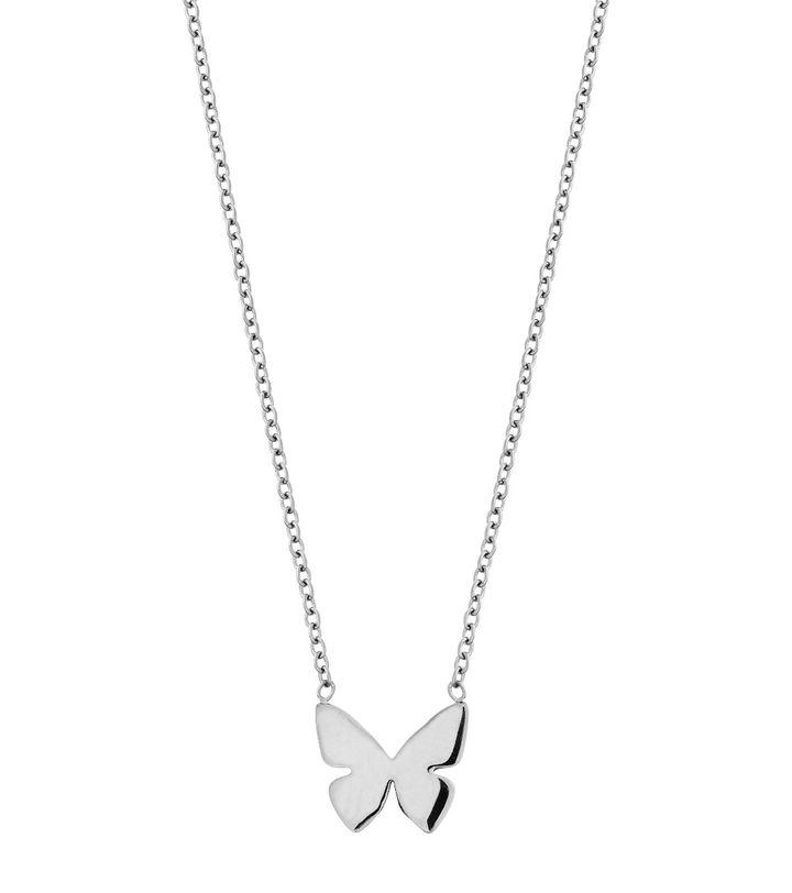 Papillon Necklace Steel