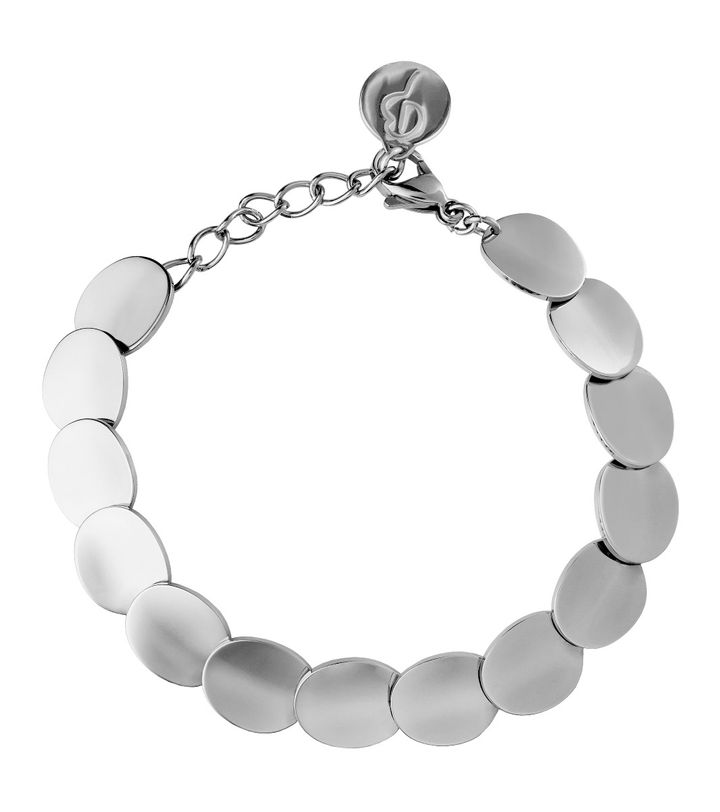 Pebble Bracelet Steel