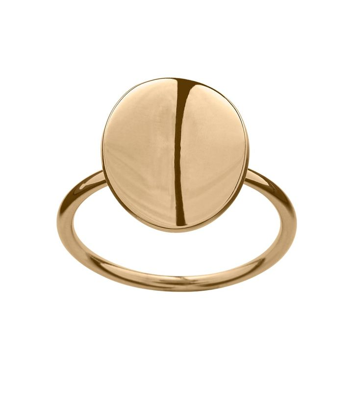 Pebble Mini Ring Gold