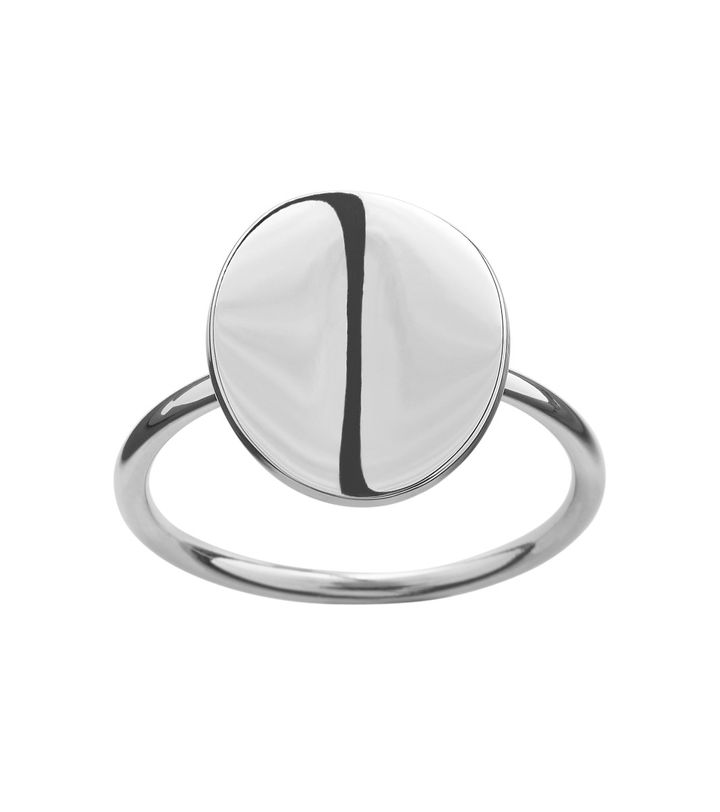 Pebble Mini Ring Steel
