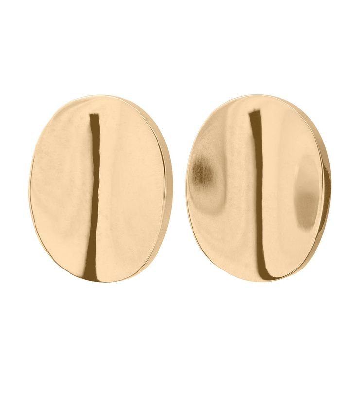 Pebble Mini Studs Gold