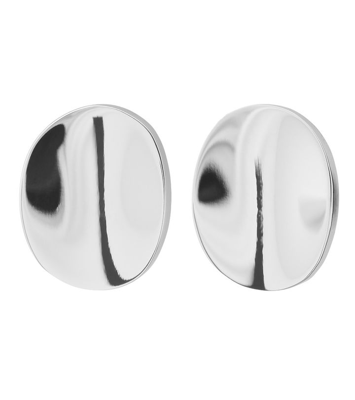 Pebble Mini Studs Steel