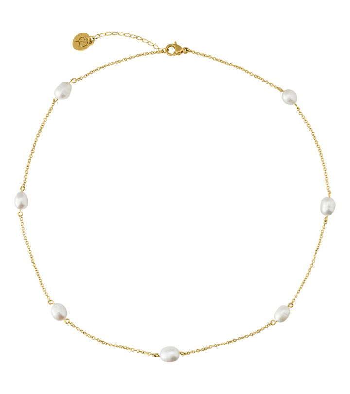 Perla Necklace Multi Gold