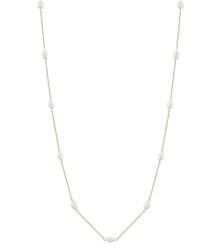 Perla Necklace Multi Long Gold
