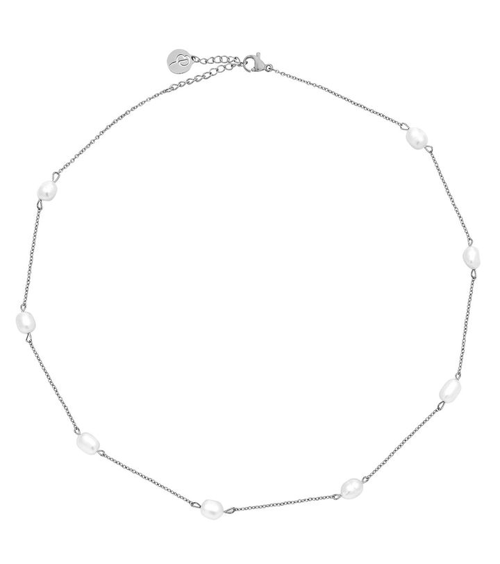 Perla Necklace Multi Steel