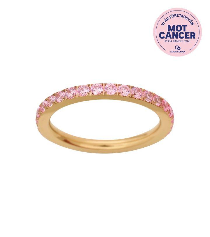 Pink October Ring Gold