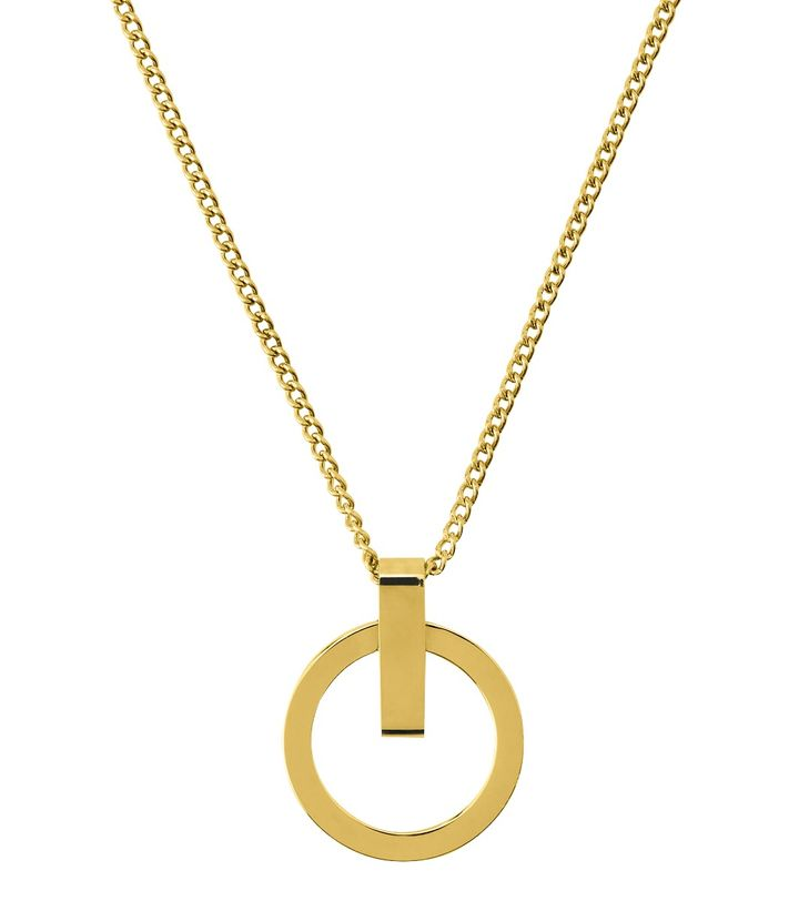 Power Necklace Short Gold