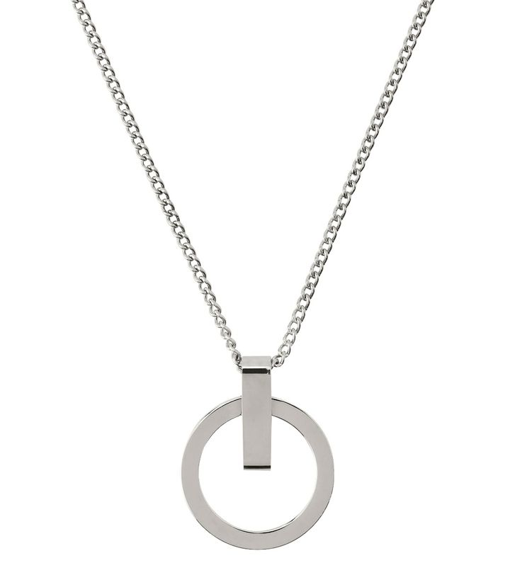 Power Necklace Short Steel