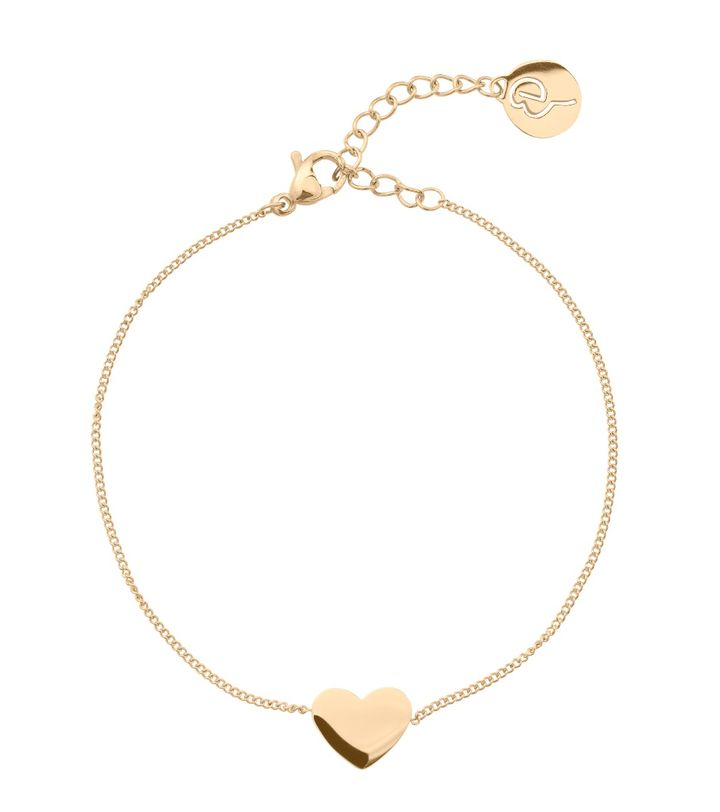 Pure Heart Bracelet Gold