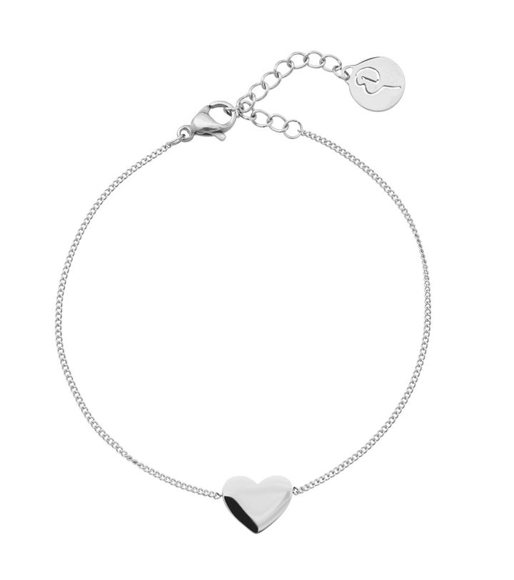 Pure Heart Bracelet Steel