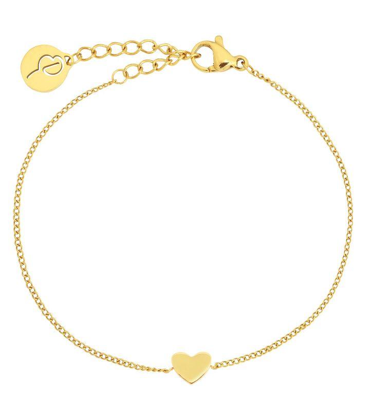 Pure Heart Mini Bracelet Gold
