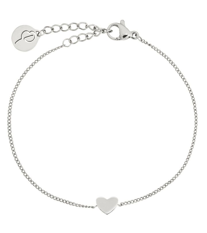 Pure Heart Mini Bracelet Steel