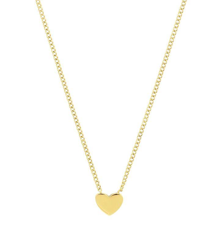 Pure Heart Mini Necklace Gold