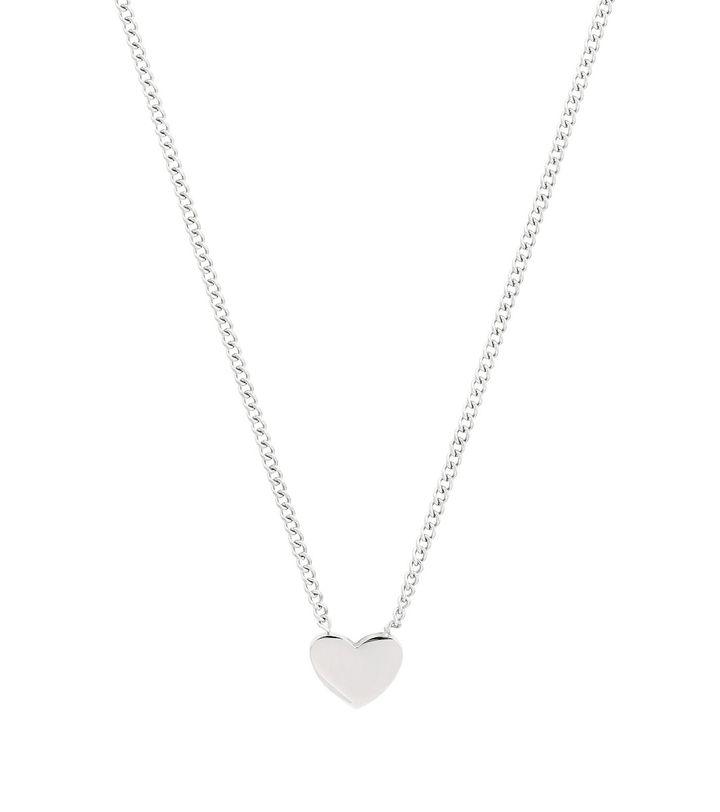 Pure Heart Mini Necklace Steel
