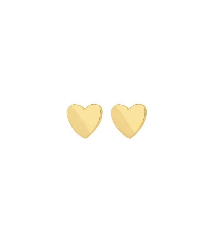 Pure Heart Mini Studs Gold