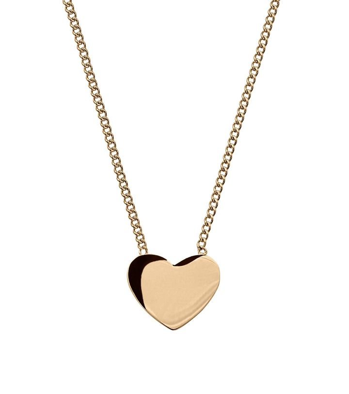 Pure Heart Necklace Gold
