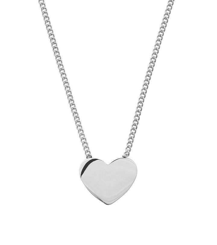 Pure Heart Necklace Steel