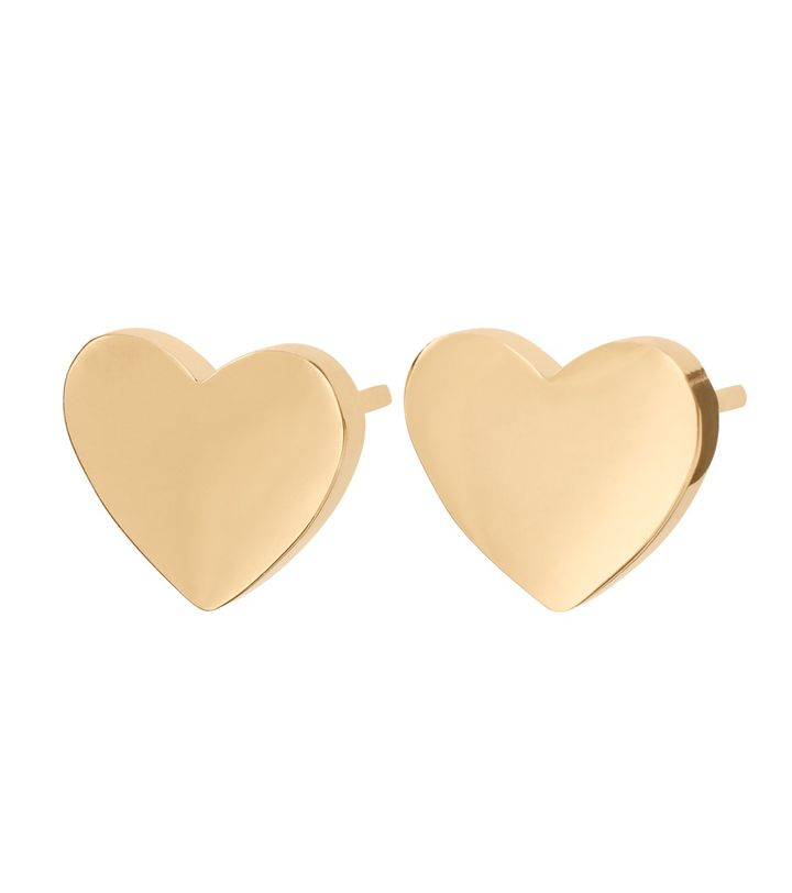 Pure Heart Studs Gold