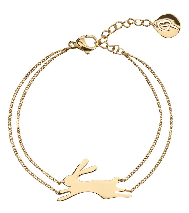 Rabbit Bracelet Gold