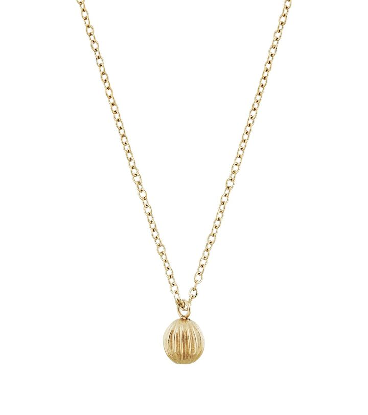 Roselle Necklace Gold