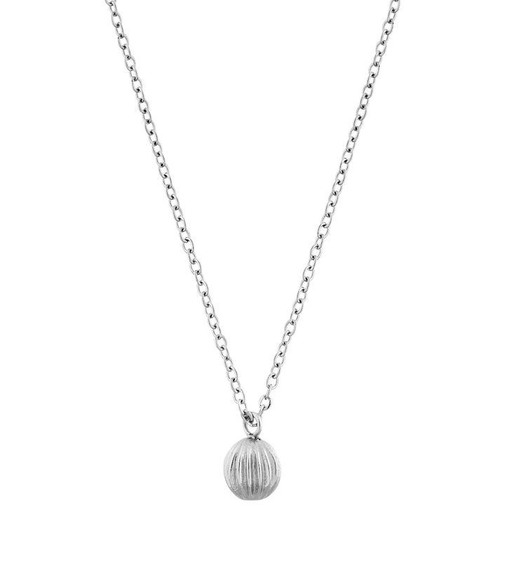 Roselle Necklace Steel