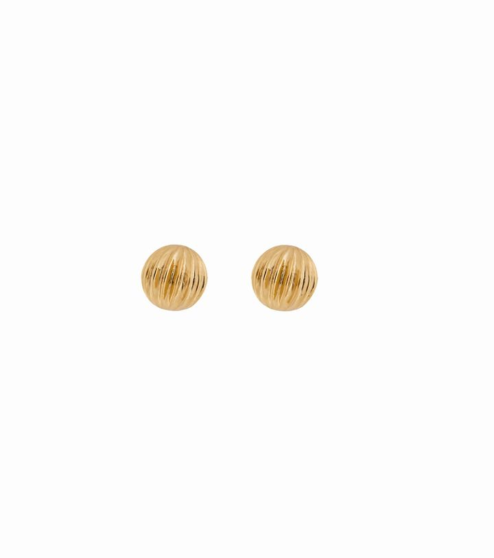 Roselle Studs Gold