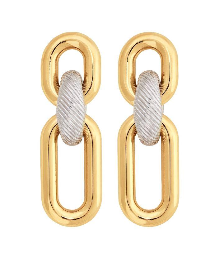 Rupi Earrings Mixed Gold