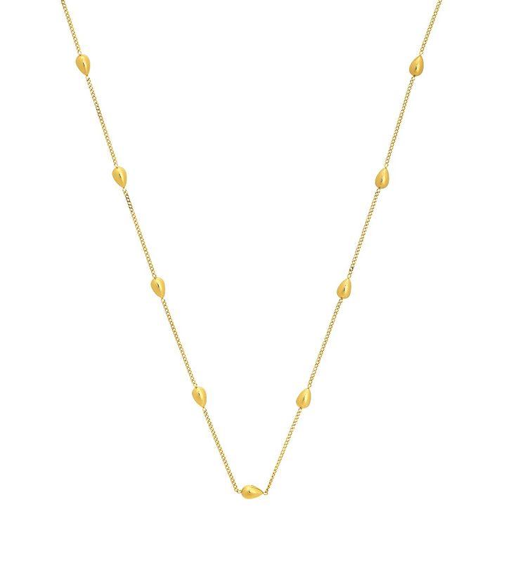Sander Necklace Multi Gold