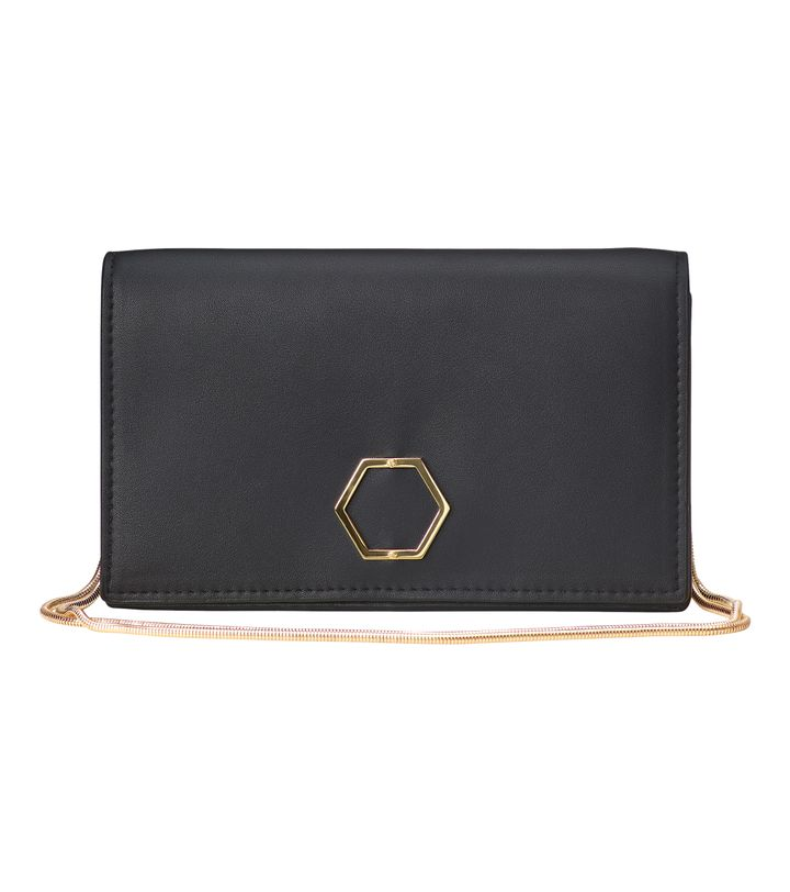 Sapphire Cocktail Bag Black
