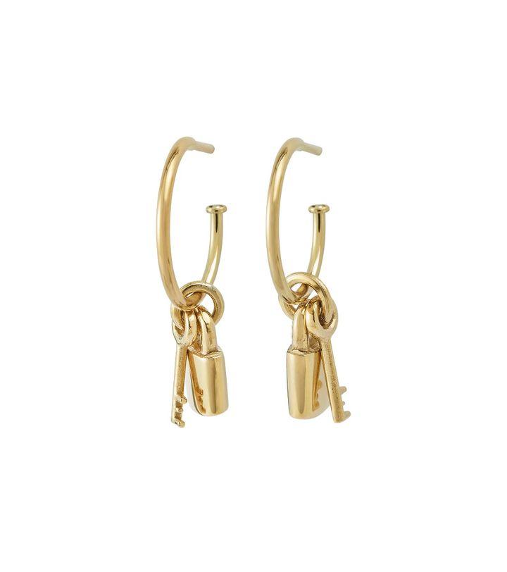 Secure Earrings Gold