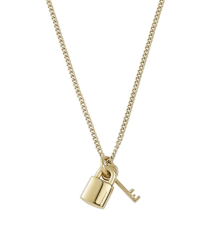 Secure Necklace Gold