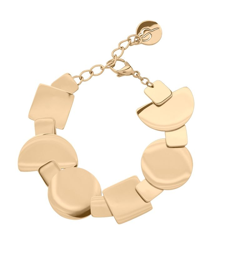 Shapes Bracelet Gold
