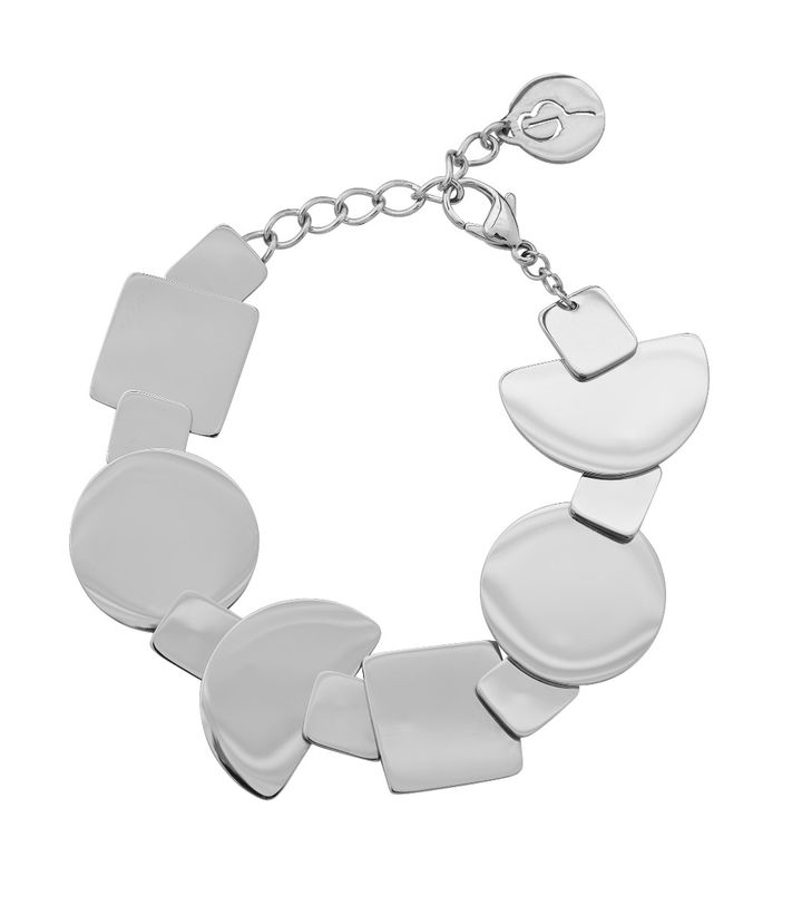 Shapes Bracelet Steel