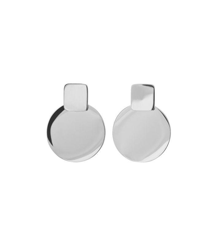 Shapes Earrings Small Steel