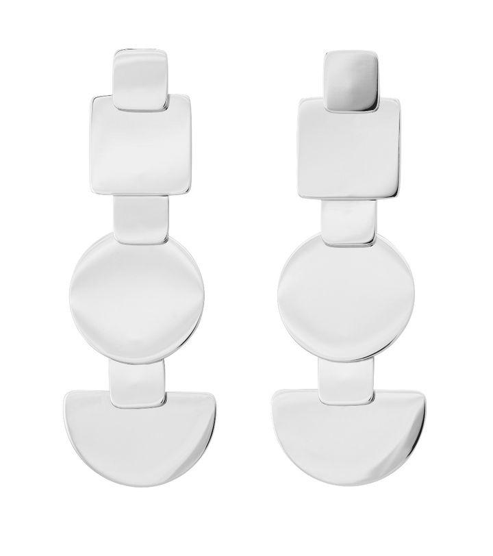 Shapes Earrings Steel