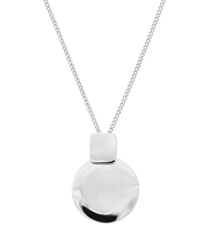 Shapes Necklace Short Steel