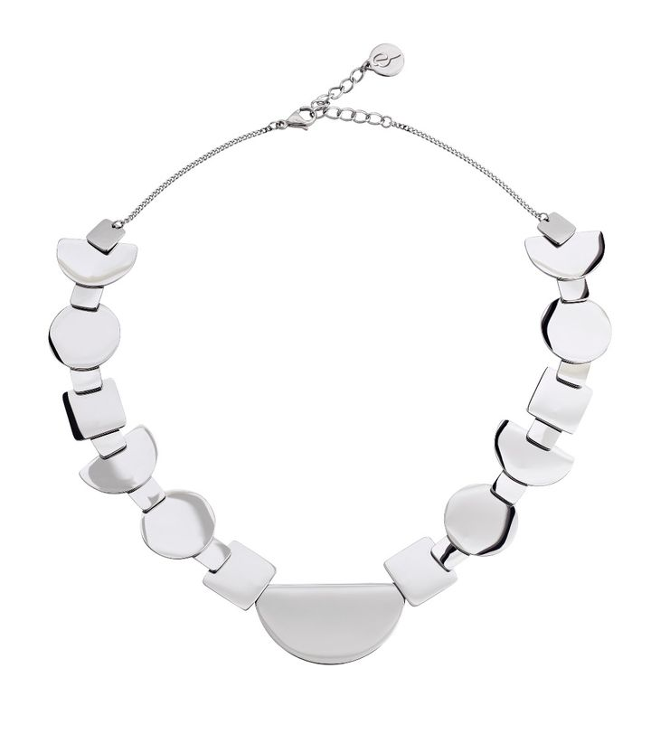 Shapes Necklace Steel