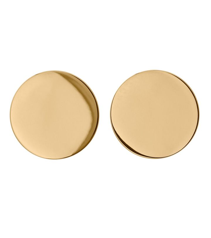 Shapes Studs Circle Gold