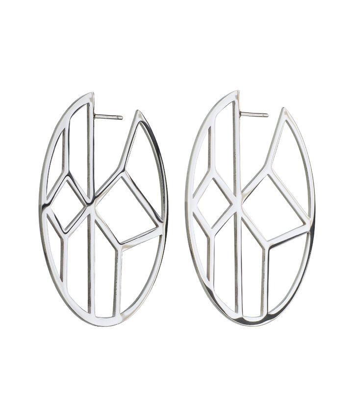 Shirin Earrings Steel