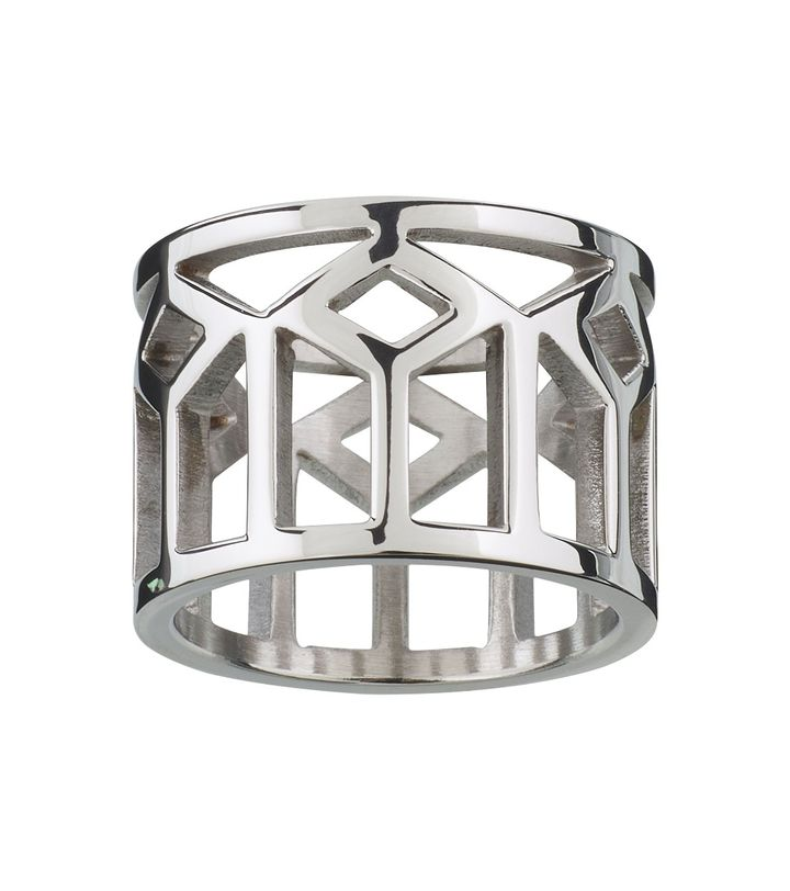 Shirin Ring Steel