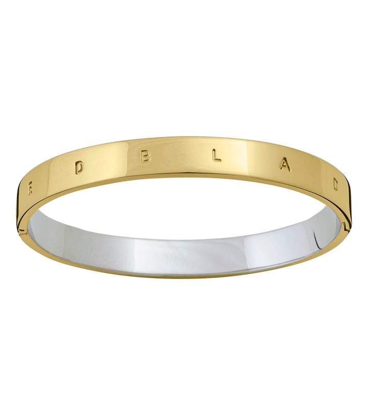 Signature Bangle Gold/Steel