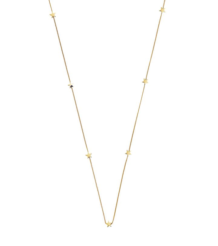Sirius Necklace Multi Gold