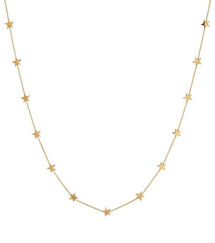 Sirius Necklace Multi Short Gold