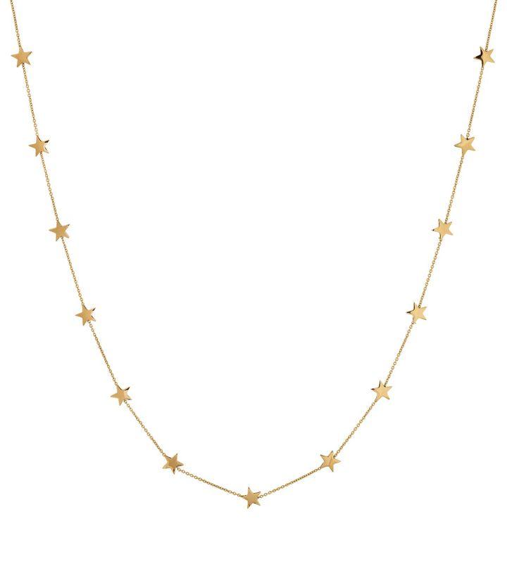 Sirius Necklace Multi Short Gold