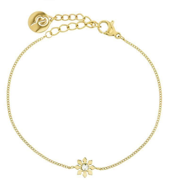 Snowflake Bracelet Gold