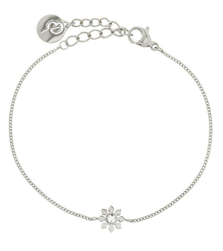 Snowflake Bracelet Steel