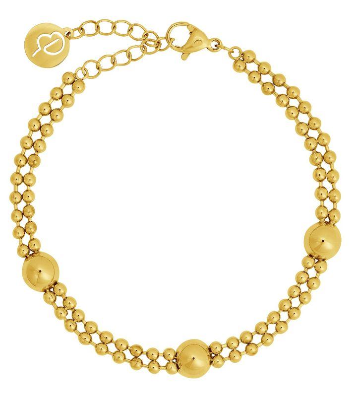 Sonic Bracelet Multi Gold
